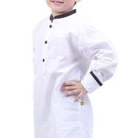 Jual TDLR Baju koko Muslim Anak Laki-Laki Putih - T 1026 Murah