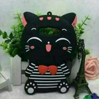 Jual Redmi note 3 3D Bowknot Lucky Cat Cartoon Silicone Case Berkualitas Murah