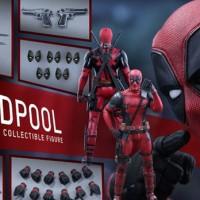 Jual Hot Toys Deadpool MIB new Murah