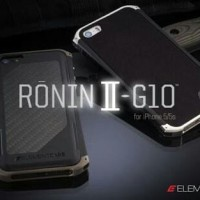 ELEMENT CASE APPLE RONIN G10 Iphone 5 / 5G / 5S TAHAN BANTING