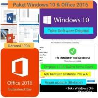 Jual Key Lisensi Windows 10 Professional dan Microsoft Office 2016 Pro Murah
