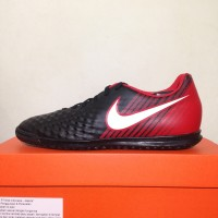Sepatu Futsal Nike Magista X Ola II Black University Red 844409-061