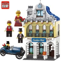 Jual PROMO Brick Lego City Series Sunshine Hotel Enlighten ENLT 1127 Murah