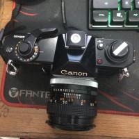 Jual SUPER Canon EF Analog RETRO MULUS LENSA FIX 50mm F1 4 f 1 4 FD S S C Murah