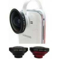 Jual Lesung Universal Clamp Super Wide Angle Lens - LX-C004-Hitam Murah