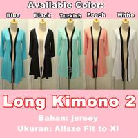 Jual Baju Outer Wanita Long Kimono 2 Terlaris Murah