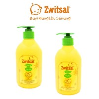 Zwitsal Natural Baby Bath with Minyak Telon / Sabun yang Menghangatkan
