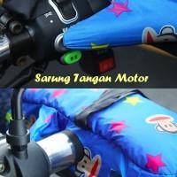 Jual Sarung Tangan Motor Dipasang di stang motor, anti panas Termurah Murah