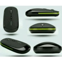Jual [Buy 1 Get 1] Mouse Ultra Slim Usb Wireless for Compute Diskon Murah