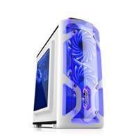 Jual Casing PC CPU SEGOTEP GAMING CASE POLAR LIGHT WHITE-1xBlue Front Led Murah