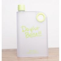 Jual Memobottle Botol Minum Flat 380ml-Hijau Murah