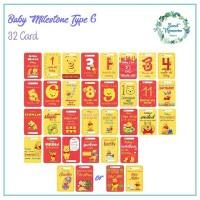 Jual WINNIE THE POOH BABY MILESTONE CARD (KARTU SELFIE BAYI)  Murah