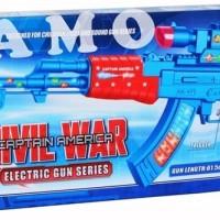 Jual ELECTRIC GUN CAPTAIN AMERICA 768 Murah
