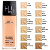 Jual MAYBELLINE FIT ME DEWY+SMOOTH FOUNDATION Murah