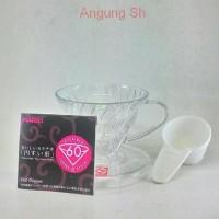 Jual Best Sale !! Hario V60 Coffee Dripper 01 Transparent VD-01T Murah