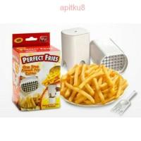 Jual SALE murah Perfect Fries French Fries Maker / Pemotong Pembuat Kentang Murah