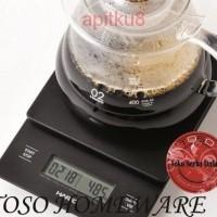 Jual Larisss Timbangan Kopi Hario V60 Drip Coffee Scale VST 2000B With Time Murah