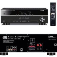 (Diskon) Yamaha Home Theater amplifier HTR-2067 - Hitam