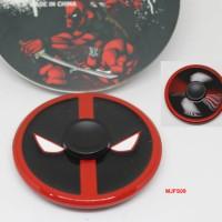 Jual (Sale) 166 - Fidget Spinner DEADPOOL Captain America Spiderman Versi 1 Murah