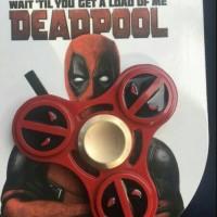 Jual 169 - Fidget Spinner DEADPOOL Captain America Spiderman Versi 4 Murah