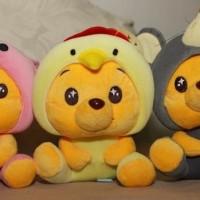 Jual (Murah) 137 - Boneka Rekam Suara Winnie The Pooh Shio Kado Valentine Murah