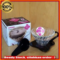 Jual New Termurah Hario VDG01 V60 Glass Coffee Dripper Pour Over Murah