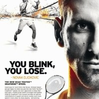 Raket Tenis HeAd YOUTEK GrApHeNe sPeEd PRO NoVaK DJOKOVIC RaCqUeT OR