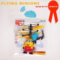 Jual flying minion/ drone flying toys/ mainan anak helikopter Murah