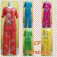 Jual Baju pakaian dress Daster tidur batik wanita Setelan celana cathline Murah