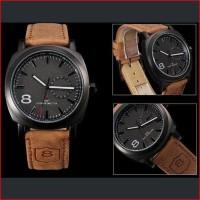 Jual New Jam Curren Leisure Time Casual Style Watch Jam Tangan Pria Strap Murah