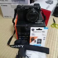 Jual New Sony Alpha a6300  with 16-50mm Lens Murah