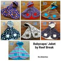 Jual BABY CAPE CLOAK by Reef Break ( Jaket Bolak Balik ) Murah