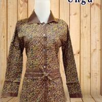 Blouse batik murah | Blus kantor batik | Baju batik wanita