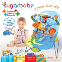 Jual Bouncer Bayi Sugar Baby Premium Healthy Bouncer 3 Recline -Great Beach Murah