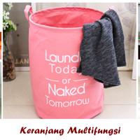 Keranjang Multifungs LAUNDRY (Bisa utk tempat pakaian dan mainan anak