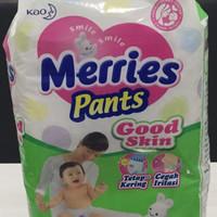 Jual Popok Merries Pants Good Skin Size M Isi 34 buah Murah
