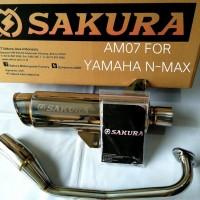 Sakura Exhaust Yamaha Nmax
