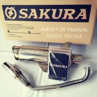 Sakura Exhaust Yamaha Aerox 155
