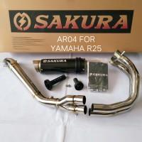 Sakura Exhaust Yamaha R25