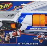 Nerf Elite Strongarm Blaster Hasbro Original-Pistol Mainan Anak