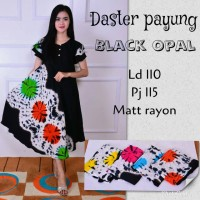 Jual Batik PKL || Daster Payunh Black Opal Murah