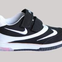 Jual Sepatu LED / Light / Nyala Double Nike Black Murah