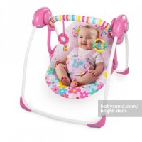 Jual  Bright Starts Portable Swing  Butterfly Cut Out T2909 Murah