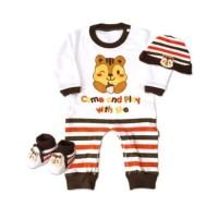 Jual  kiddy Baby gift set Jumper lengan panjang T3010 Murah