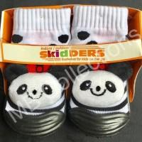 Jual Skidder Sepatu Baby Motif Boneka Panda Hitam Uk 19 Terbaru Murah