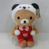 Jual Boneka Rilakuma I Love You Kostum Panda Cina Terbaru Murah