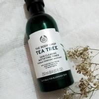 Jual The Body Shop, Tea Tree Skin Clearing Toner 250ML (FREE BUBBLE PACK) Murah