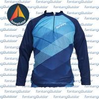 Kaos / Jersey Sepeda / Gowes Lengan Panjang Balap Giant B023