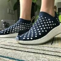 Adidas NMD CS2 Polka Navy Pack Sepatu Jalan Pria Wanita Couple PREMIUM