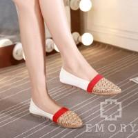 harga Emory Kallia 375 Sepatu Flats Wanita Tokopedia.com